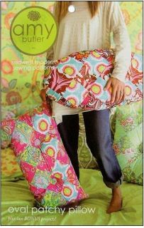 Amy Butler Oval Patchy Pillow Sewing Pattern