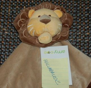 Amy COE Zoology Animal Zoo Baby Lion Security Blanket