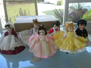 Madame Alexander Little Woman Dolls Marme Amy Beth Meg Jo Laurie