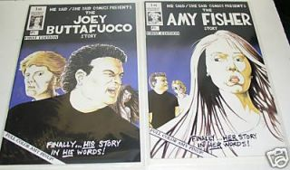 THE AMY FISHER STORY & THE JOEY BUTTAFUOCO STORY COMIC