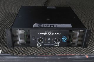 Crest Audio CA12 Power amplifier Amp 2800w CA 12 used from installed