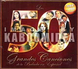 CD DVD 50 Grandes Baladas Juan Gabiel Rocio Durcal Pimpinela Lucia