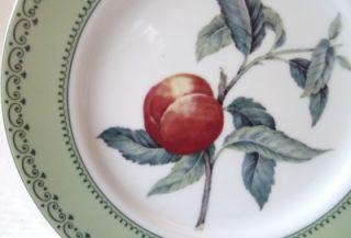 salad plate andrea sadek winterthur fruit peach euc