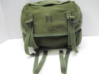 Vietnam War Field Combat Fanny Butt Pack OD Canvas M 1961