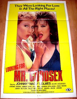 ing for Mr Goodsex 85 John Holmes Amber Lynn 1sh