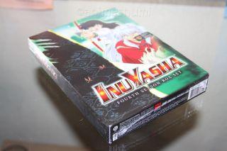 InuYasha Uncut Season 4 Box Set Anime DVD R1 Viz Media New SEALED