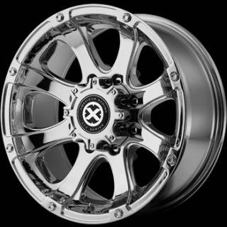 20x9 Chrome Wheel American Racing ATX Ledge 6x135