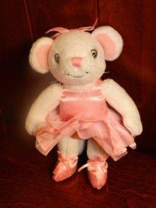 Angelina Ballerina Purse American Girl Plush Stuffed Animal Mouse