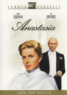 Anastasia Ingrid Bergman Yul Brynner DVD
