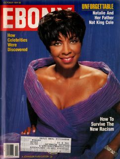 Ebony Whitney Houston Queen Latifah Natalie Cole Hal McRae Salt N