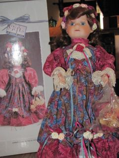 Porcelain Amber Lynn Doll from Gifts by House of Lloyd