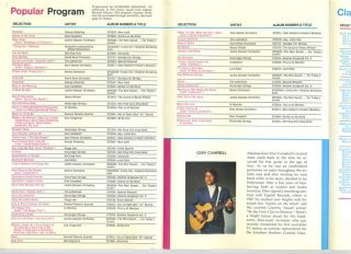 American Airlines Fun in Flight Entertainment Program 48 Glen