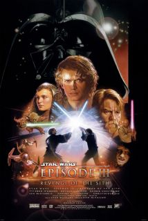 Star Wars Episode III Movie Poster DS Orig Final 27x40