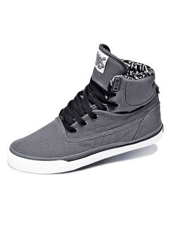 Famous Stars Straps Future High Top Trainers Charcoal
