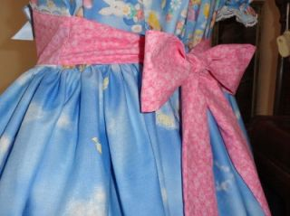 Adult Sissy Baby Dress Bears N Bunnies by Annemarie