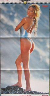 Calendar Sexy Anna Falchi Nude Calendario Max 1996