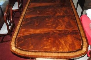Made Large Mahogany Dining Table 12 ft Scalloped Corners MSRP $9000