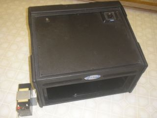 Audio ,4 space by 7 space rack roadcase DJ Rack shuttle, Anchor Audio