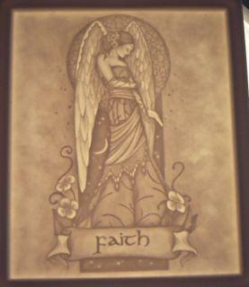 Faith Angel Nightlight Lithophane Jessica Gailbreth Art Close Out Sale