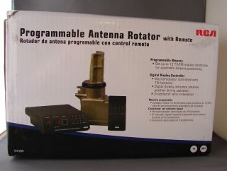 Programmable Memory Digital Display Antenna Auto Rotator w Remote New