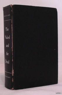 The Naked and The Dead Norman Mailer 1st 1st Classic First Edition