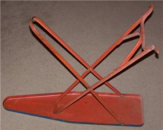 antique toy folding metal ironing board 1940 s