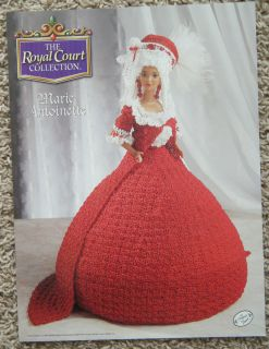 Marie Antoinette Barbie Fashion Doll Crochet Pattern Annies Royal