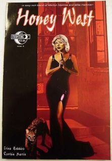 Anne Francis Honey West 1 First Issue Comic Variant A