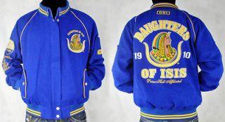 Daughters of Isis PHA Divine Ladies Letterman Twill Jacket