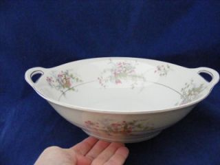 Theodore Haviland New York Apple Blossom Round Handled Serving Bowl