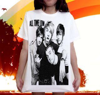 All Time Low pop punk band Music Metallica T SHIRT Sz.S,M,L,XL