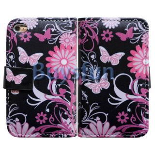 Style Wallet Leather Case Cover for Apple iPod Touch 4 4G 4th