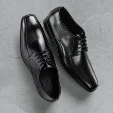 NIB* MARC ANTHONY~ BLACK LEATHER ANDRES OXFORDS~ 9 M