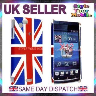 Sony Ericsson Xperia Arc x12 LT15i UK England Flag Union Jack Hard