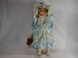 Bonnie 24 Victorian Porcelain Doll American Classics Cracker Barrel