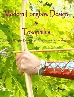 LONGBOW Design Toxophilus Refined By Ascham BOOK Archery Bow and Arrow