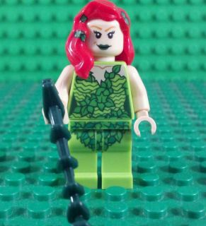 Lego Batman Super Heroes Minifigure 6860 Poison Ivy New Dual Face