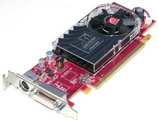 ati radeon hd 3450 256mb ddr2 pci express pcie dms 59 video card w tv