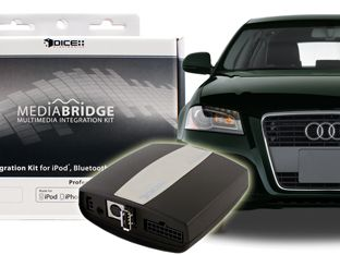 Audiovox AMBR 1500 AUD iPod iPhone  & Bluetooth Interface for Audi
