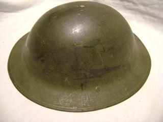 US Civil Defense British Helmet Military Army Original Liner