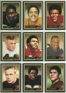 Official Heisman Cards Archie Griffin Earl Campbell Bo Jackson