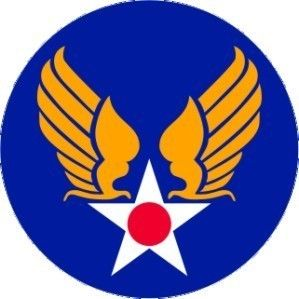 Vintage Army Air Corps Wings Sticker Decal Sign 3