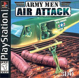 Army Men Air Attack PLAYSTATION 1 2 3 PS1 PS2 PS3 COMPLETE 83V