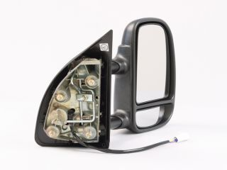 PS RH Power camper Tow Towing Side View Mirror Telescoping