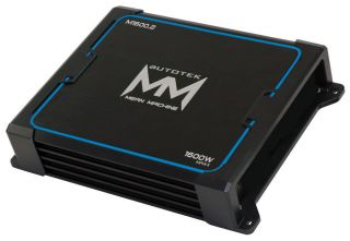 Autotek Mean Machine M1600 2 1600W Max Series 2 Channel Car Audio