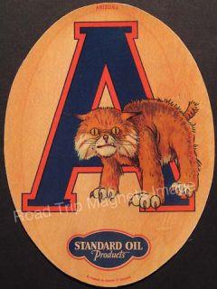 University of Arizona Wildcats 1930s Football Magnet