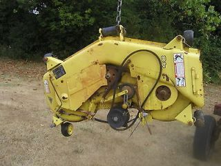 John Deere lawn tractor model 48 mowing deck in good shape w/4 adj