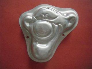 Face Mini Single Pooh Character Cake Tin Wilton Aluminum Cake Pan Mold