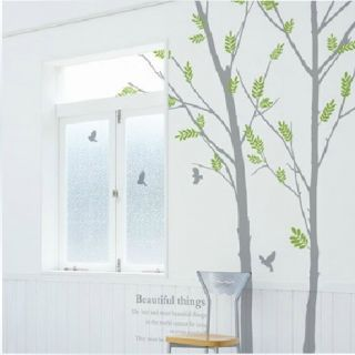 Wall Vinyl Paper Art Sticker Removable Tree QZ155