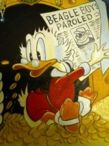 Carl Barks Uncle Scrooge McDuck Moneybin Duckburg Walt Disney Donald
